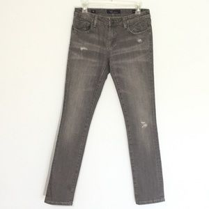 Vigoss Skinny Jeans NWOT Distressed Gray Jeans 28